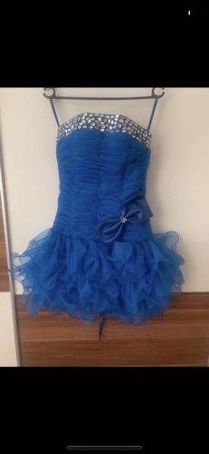 Suknia balowa niebieski