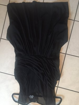 Calvin Klein Sukienka z rękawem balonowym czarny