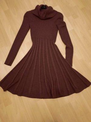 Calvin Klein Robe en laine brun pourpre-violet laine