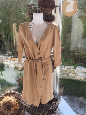 MNG Casual Sportswear Vestido de camuflaje camel Viscosa