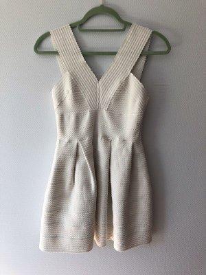 H&M Mini Dress white polyester