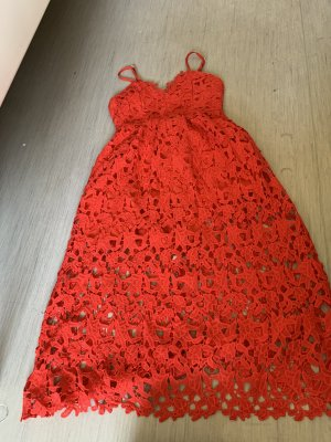 Amazone Knitted Dress red