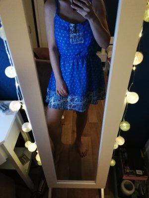 Alcott Szyfonowa sukienka niebieski