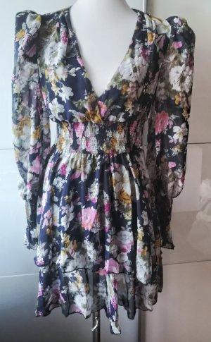 SheIn Chiffon Dress multicolored