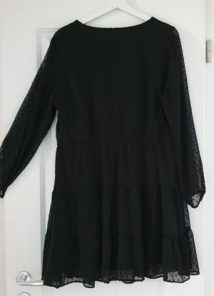Devided von H&M Robe chiffon noir