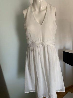 Kleid Chiffon in weiß Vero Moda Gr 38 40 M