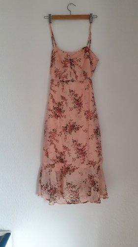 Boohoo night Chiffon jurk rosé