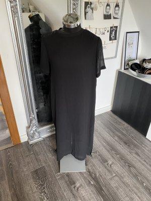 B/W Zara Collection Chiffon jurk zwart Polyester