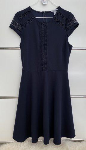 Kleid Cocktail Blau Gr S neuwertig