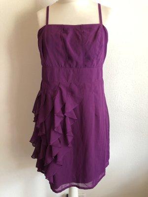 Kleid Cocktailkleid Abendkleid lila beere Gr. 42