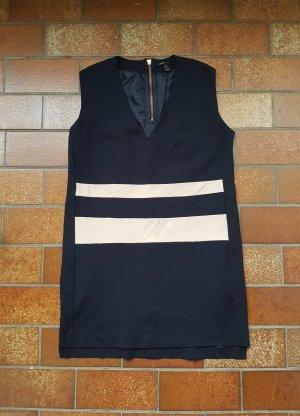 Kleid Cocktailkleid Mango Blau Marine Gr. XL / 42