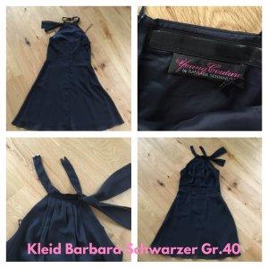 Kleid Cocktailkleid Neckolder Barbara Schwarzer