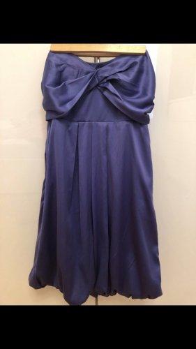 Robe bustier violet