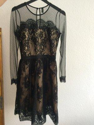 Kleid Cocktailkleid Spitzenkleid Größe 38 YAS
