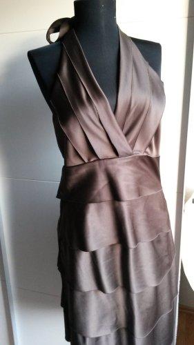 Yessica Vestido de cóctel color bronce-marrón claro