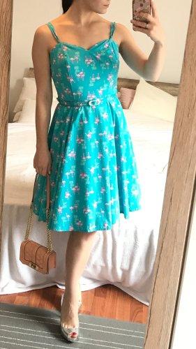 Collectif Midi Dress multicolored cotton