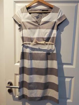 Comma Sheath Dress white-light grey