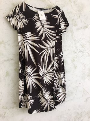 Comma Letnia sukienka czarny-biały