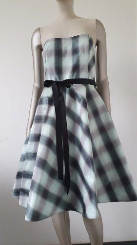 Swing Vestido corsage turquesa