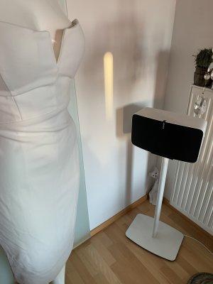 Missguided Sukienka z gorsetem biały Poliester