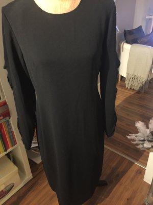 COS Avondjurk zwart-donkergroen