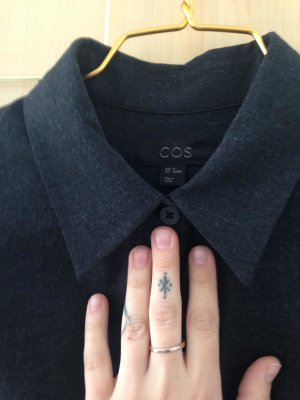 COS Longsleeve Dress black