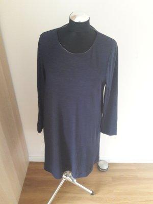 COS T-shirt jurk donkerblauw