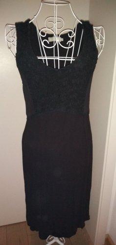 Kleid Cream Spitzen schwarz  Gr. 36 neuwertig