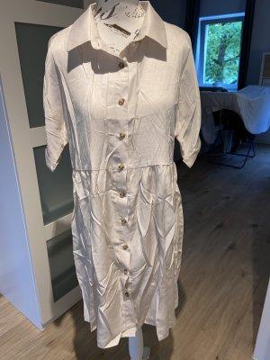 Sheinside Summer Dress cream polyester