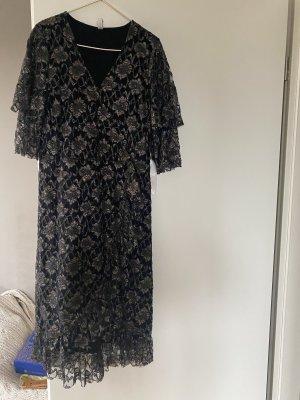Kleid Culture S gatsby schwarz Gold Silvester
