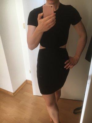 Abercrombie & Fitch Cut Out Dress black