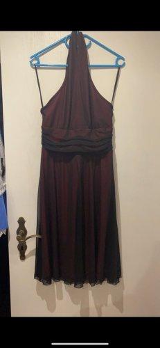 C&A Yessica Halter Dress bordeaux