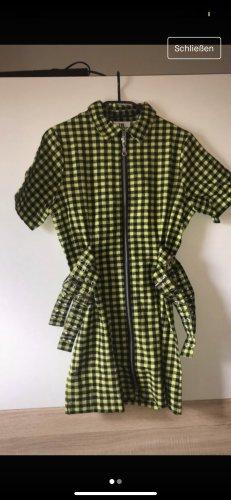 The Ragged Priest Mini Dress primrose-black