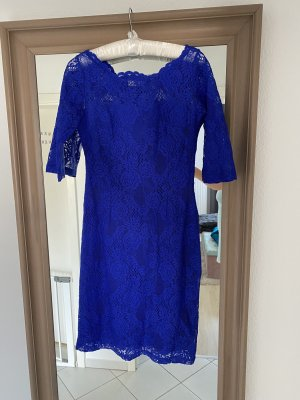 0039 Italy Lace Dress blue