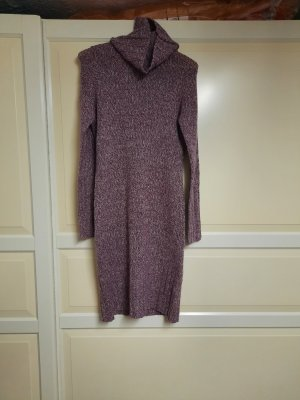 Apart Robe en laine blanc-mauve