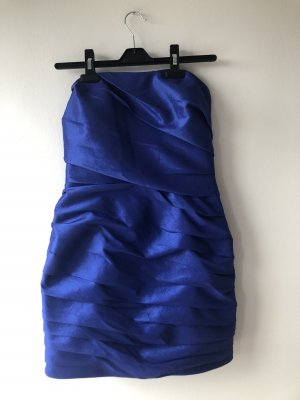 Tube Dress dark blue-blue
