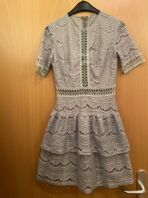 About You Lace Dress grey
