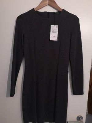 Zara Longsleeve Dress grey-dark grey