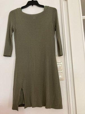 Kontatto Pencil Dress green grey