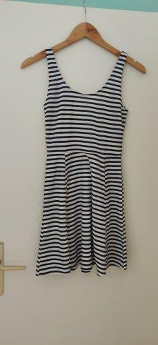H&M Vestido playero blanco-azul