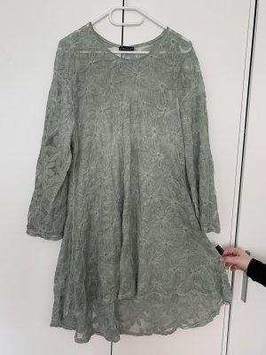 Sarah Santos Lace Dress mint-sage green