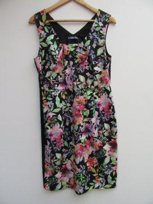 Kleid Damen Blumen Clara Chiara Gr. 40/42 Made in Italy