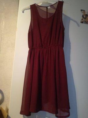H&M Divided Szyfonowa sukienka Wielokolorowy