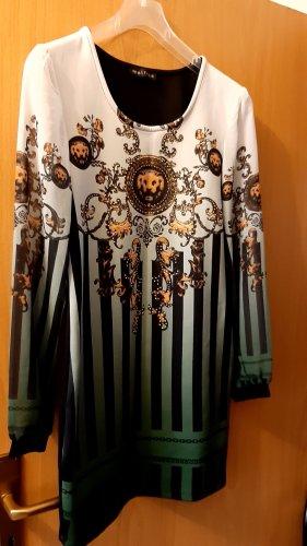 Melrose Vestido de tela de sudadera multicolor