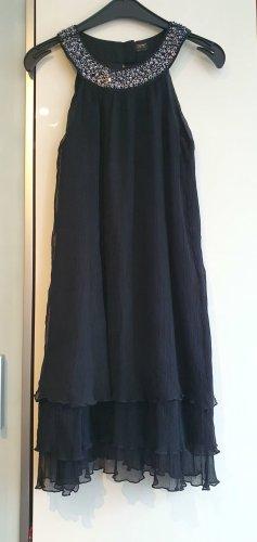 esprit collection Cekinowa sukienka czarny