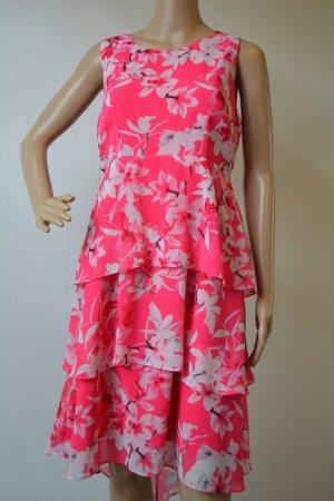 Wallis Shortsleeve Dress white-pink