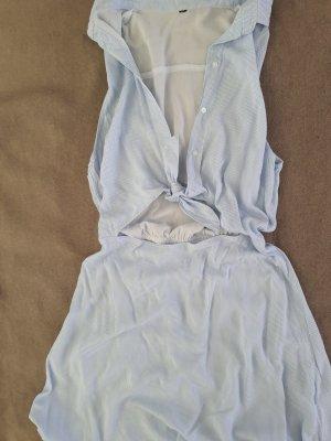 Cut Out Dress light blue