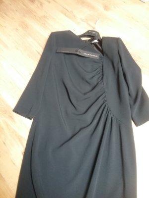0039 Italy Vestido línea A negro