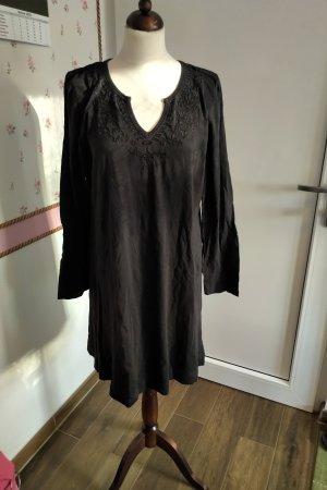 Deerberg Vestido estilo camisa negro