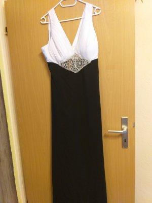 Bella Donna Evening Dress white-dark blue